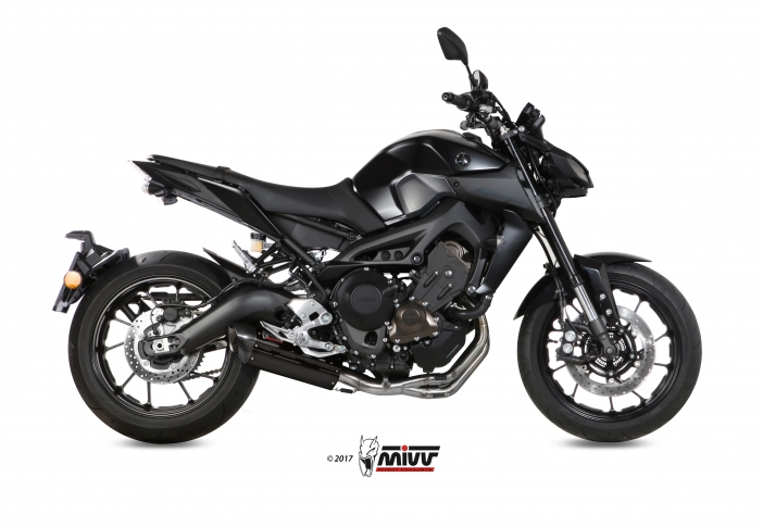 MIVV SUONO STEEL BLACK FULL SYSTEM YAMAHA MT-09