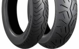 BRIDGESTONE E-MAX 100/90-19 & 150/80-16REAR