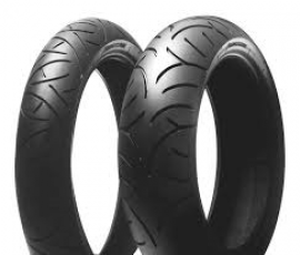 BRIDGESTONE BT21 120/70-17 & 160/60-17
