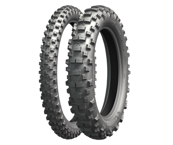 MICHELIN ENDURO MEDIUM F.I.M 90/90-21 & 140/80-18