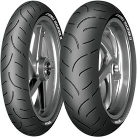 DUNLOP QUALIFIER II 120/70-17 & 200/50-17
