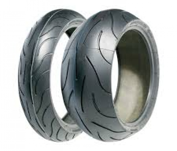 MICHELIN PILOT POWER 2CT 120/70-17 & 190/55-17