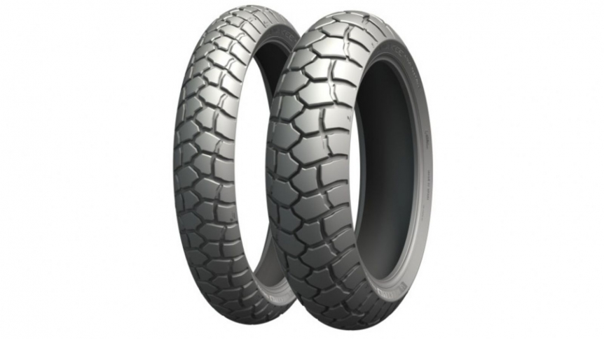 90/90-21 & 130/80-17 MICHELIN ANAKEE ADVENTURE