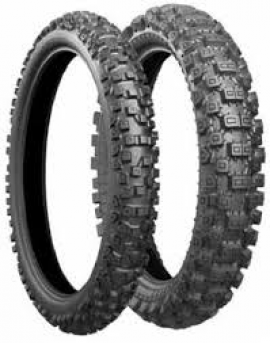BRIDGESTONE X40 80/100-21 & 110/100-18 HARD