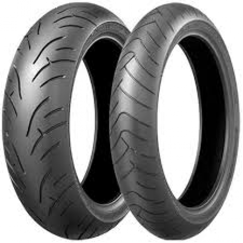 BRIDGESTONE BT23 120/70-17 & 160/60-17
