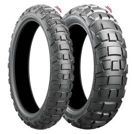 BRIDGESTONE ADVENTURECROSS AX41 100/90-19 & 130/80-17