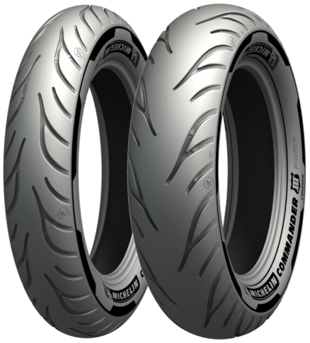 MICHELIN COMMANDER III CRUISER 90/90-21 & 130/90-16