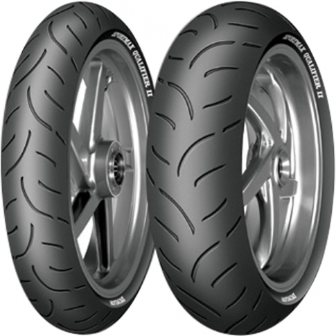 DUNLOP QUALIFIER II 120/70-17 & 190/55-17