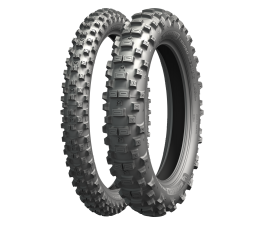 MICHELIN ENDURO MEDIUM F.I.M 90/100-21 & 120/90-18