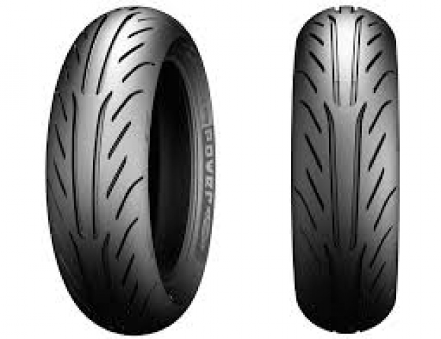 MICHELIN POWER PURE 120/70-15 & 130/80-15