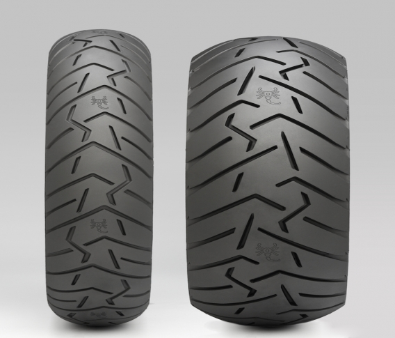 PIRELLI SCORPION TRAIL II 120/70-17 & 180/55-17