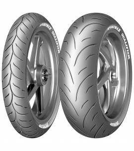 DUNLOP QUALIFIER 120/70-17 & 180/55-17