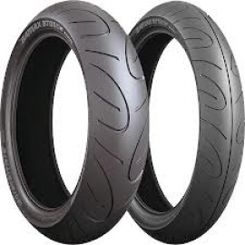 BRIDGESTONE BT90 120/70-17 & 150/60-18