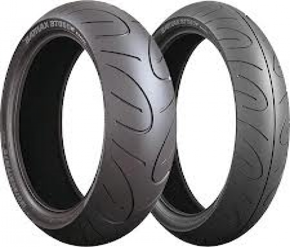 BRIDGESTONE BT90 120/70-17 & 160/60-17
